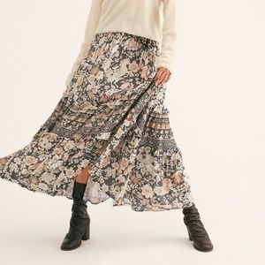 Free People X Spell and the Gypsy Amethyst Maxi Skirt